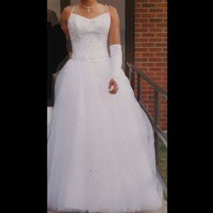 Formal gown for wedding or prom